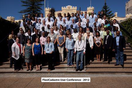 2012FlexiCadastreConferenceDelegatesSmall