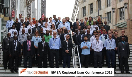 FlexiCadastre EMEA Regional User Conference 2015 Small