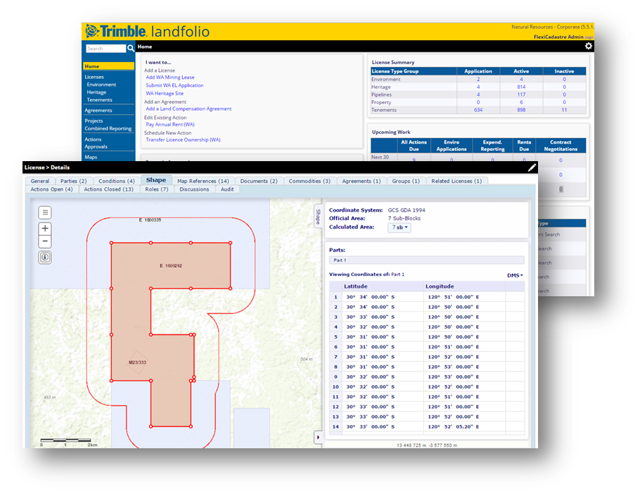 Landfolio Land Management Software - Trimble