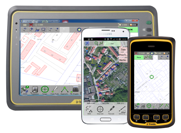 Cadastral Data Collection Solutions - Trimble