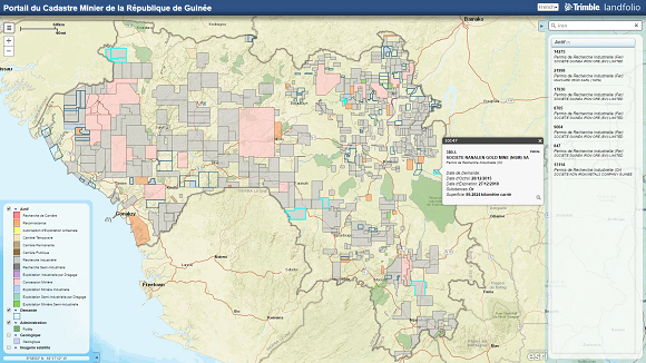 Republic of Guinea goes live with modernized Mining Cadastre System on dominion land survey, aerial map, construction map, ohio indian reservations map, land description, wetlands map, survey map, political map, construction surveying, agriculture map, recorder of deeds, lodz poland map, education map, thematic map, topographical map, geologic map, choropleth map, climate map, geospatial map, aeronautical chart, topographic map, pictorial maps, crown land, contemporary world map, drainage map, land map, taiwan population density map, silesia prussia map, nautical chart, torrens title, gis map, real property,