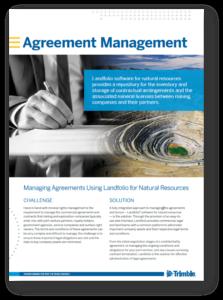 landfolio agreement management use case
